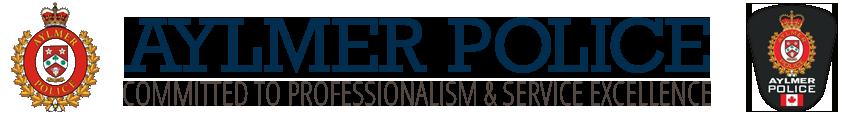 aylmer police logo